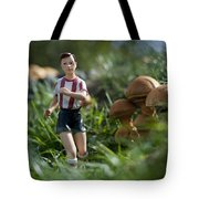 Made In China Soccer Player Tote Bag