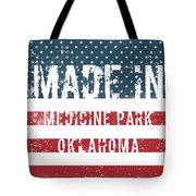 Made In Medicine Park, Oklahoma Tote Bag
