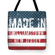 Made In Williamstown, New Jersey Tote Bag