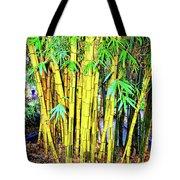 City Park Bamboo Grass Tote Bag