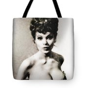 Madeline Smith, Vintage Actress Tote Bag