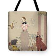 Mademoiselle De Maupin Tote Bag