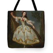 Mademoiselle Violette Dancing Tote Bag