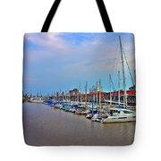 Madero Boat Yard Tote Bag