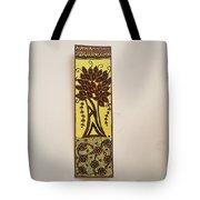 Madhubani Bookmark Tote Bag