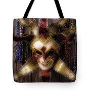 Madi Gras Mask And Beads Tote Bag
