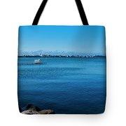 Madison Across Lake Mendota Tote Bag
