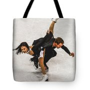 Madison Chock And Evan Bates Tote Bag