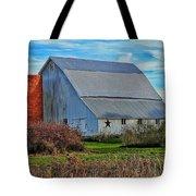 Madison County Barn Love Tote Bag