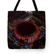 Madison Square Garden Aerial Tote Bag