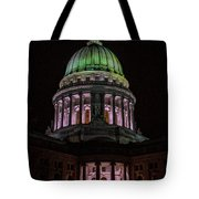 Madison Wi At Night Tote Bag