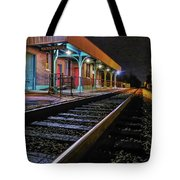 Madisonville Train Depot Tote Bag