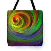 Madman's Sunrise Tote Bag
