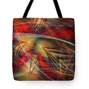 Madness Of Art Tote Bag