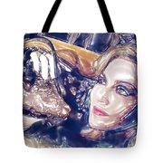 Madona Watercolor Tote Bag