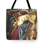 Madonna And Child And The Young St John The Baptist 1495 Tote Bag