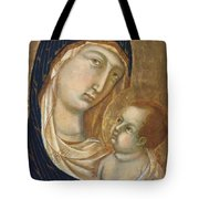Madonna And Child Fragment  Tote Bag