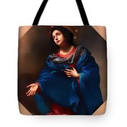 Madonna In Glory Tote Bag