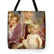 Madonna Of Giverny, 1901 Detail Tote Bag