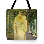 Madonna Of The Arbor Tote Bag
