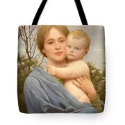 Madonna Of The Mount  Tote Bag
