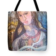 Madonna Of The Racket Tote Bag