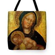 Madonna With Child Gentile Da Fabriano 1405 Tote Bag