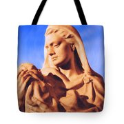 Madonna With Christ Child Tote Bag by Kristin Elmquist