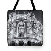 Madrid At Night Tote Bag