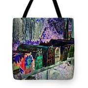 Madrid Mailboxes Tote Bag