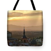 Madrid Mountain View Tote Bag