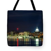Madtown Skyline Tote Bag