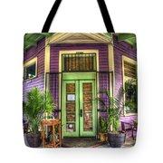Magazine Street Resaurant Tote Bag