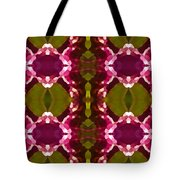 Magenta Crystals Pattern 2 Tote Bag