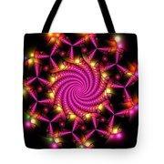 Magenta Mosaica Tote Bag