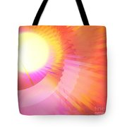 Magenta Orange Sunshine Tote Bag