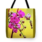 Magenta Orchid 3 Tote Bag