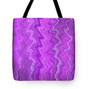 Magenta Waves  Tote Bag