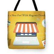 Magento Development Services In Usa Tote Bag