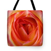 Magestic Pink Rose Tote Bag