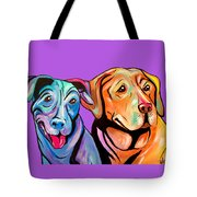 Maggie And Raven Tote Bag