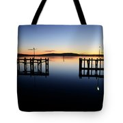 Magic At Bodega Bay California Tote Bag
