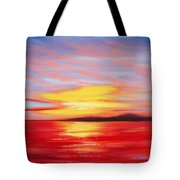 Magic At Sunset Tote Bag