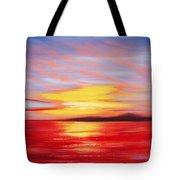 Magic At Sunset Tote Bag