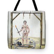 Magic Circle Ritual, 18th Century Tote Bag