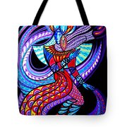 Magic Dance In The Void Tote Bag