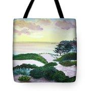 Magic Dawn At A Hidden Beach Tote Bag