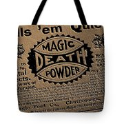 Magic Death Powder Tote Bag