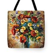 Magic Flowers Tote Bag