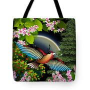 Magic Garden Of Bliss 3 Tote Bag